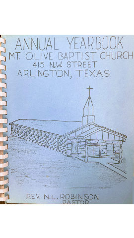 1960s Mount Olive Annual Yearbook