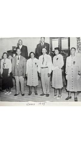 Mount Olive Ushers in 1945