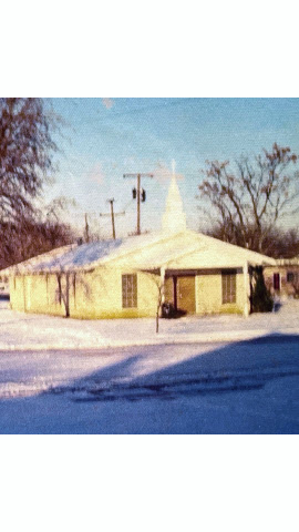 Mount Olive Baptist Church, 1972