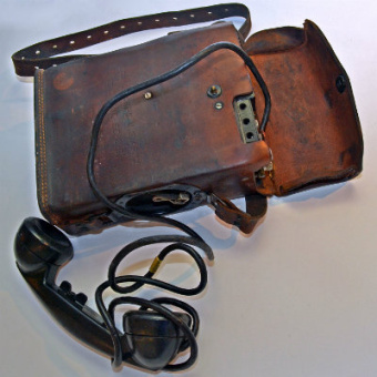 World War II era military phone