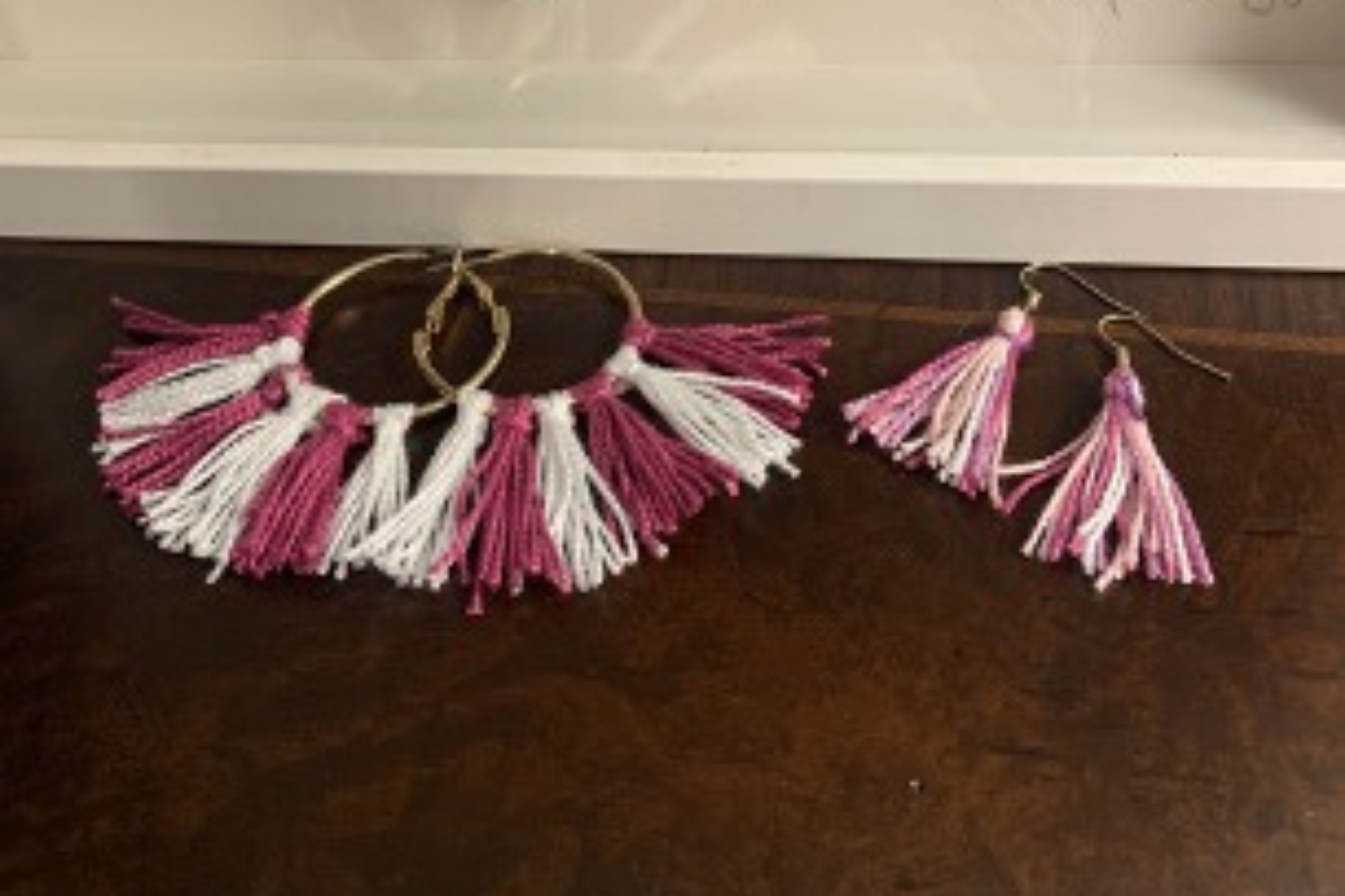 Arts and Crafts: Tassel Earrings
