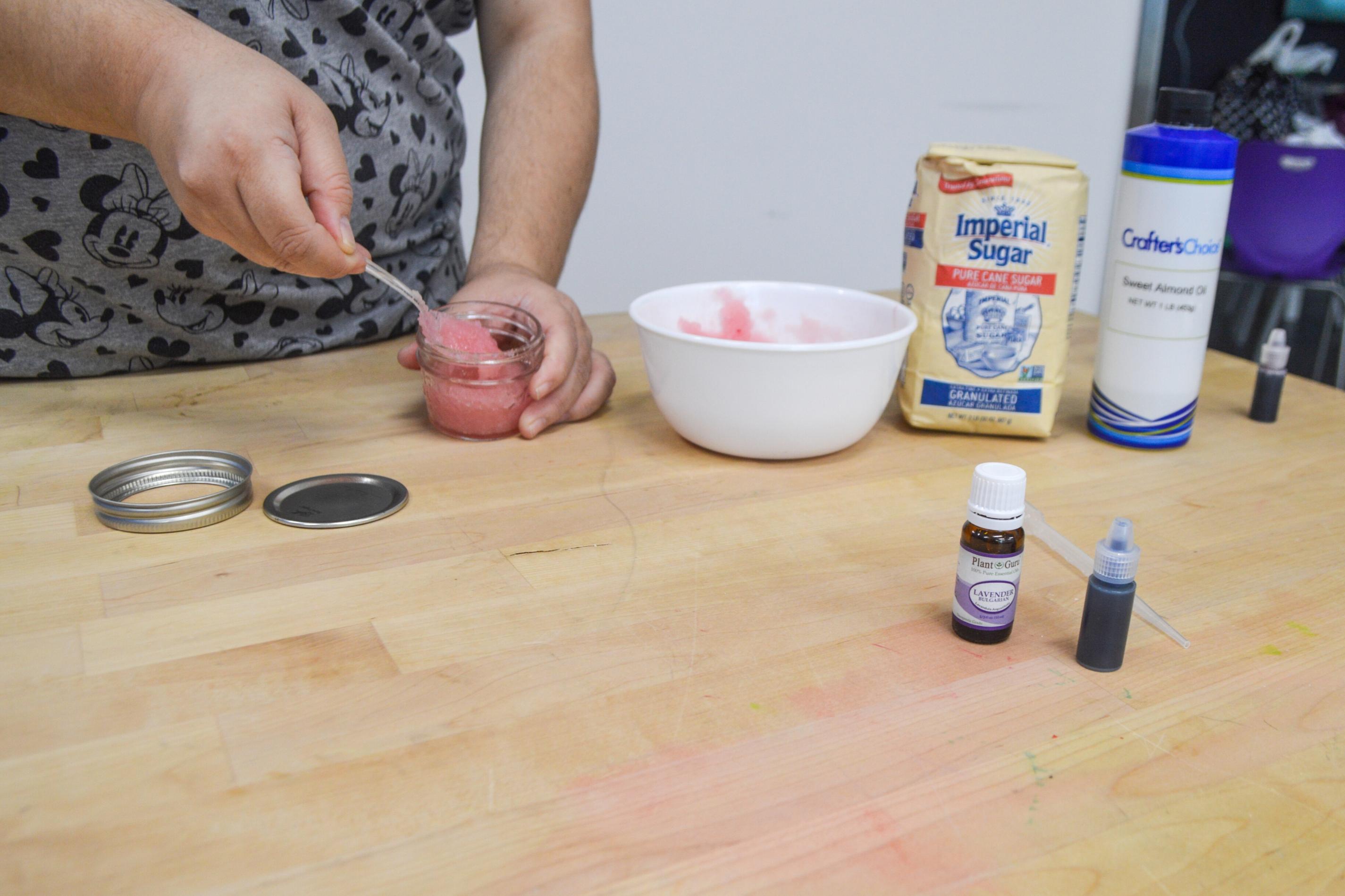 Self-Care Craft: Simple Sugar Scrub