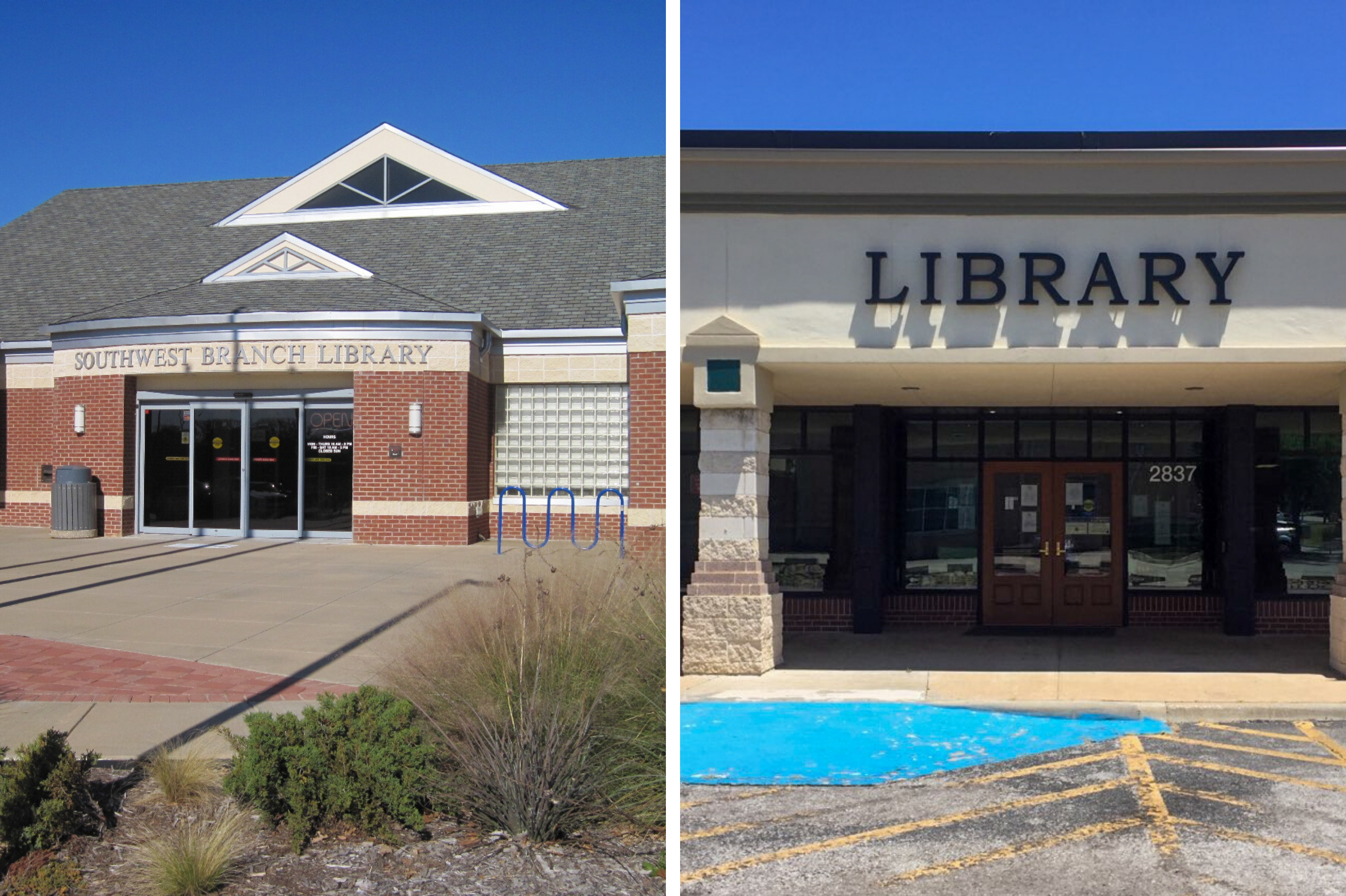 Southwest and Woodland West Branches Reopen at Reduced Capacity