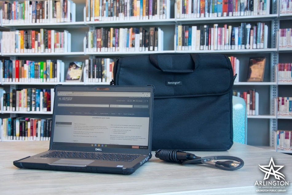 Laptops Available to Take Home at the East Library and Recreation Center